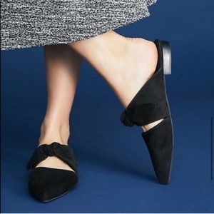 Anthropologie Jeffrey Campbell Charlin Bow Mules